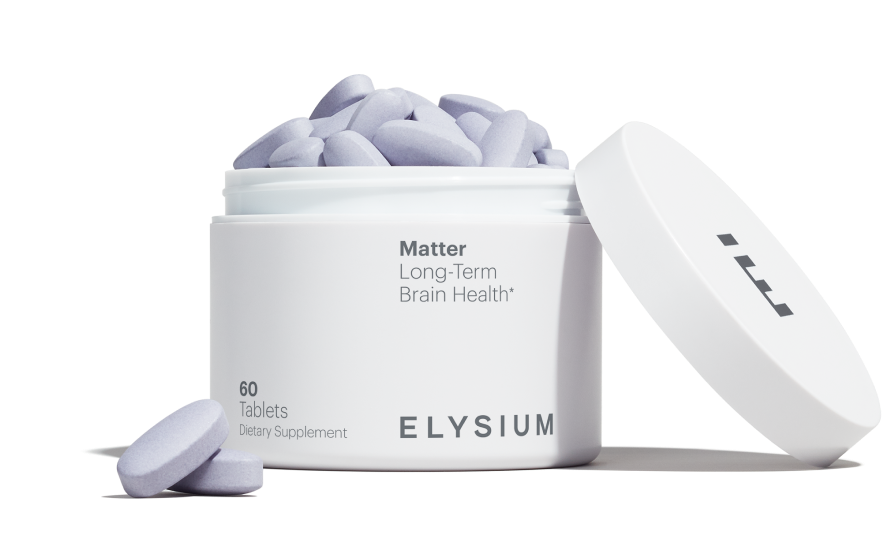 Matter | Long-Term | Brain-Health* | ELYSIUM | 60 Tablets | Dietary Supplement